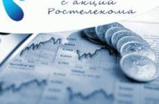 Стоимость акции Ростелекома сегодня