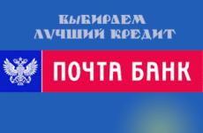 Выбираем лучший кредит для пенсионеров в «Почта Банк»