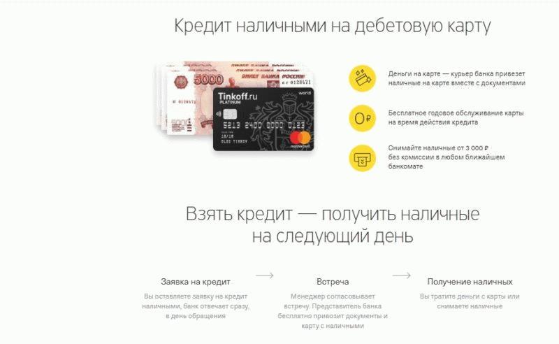 Обычный кредит наличными