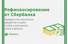 Сбербанк: рефинансирование кредитов других банков физическим лицам. Условия и преимущества