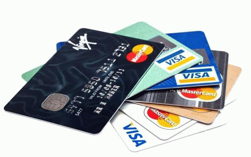 Внешний вид кредитных карт.
