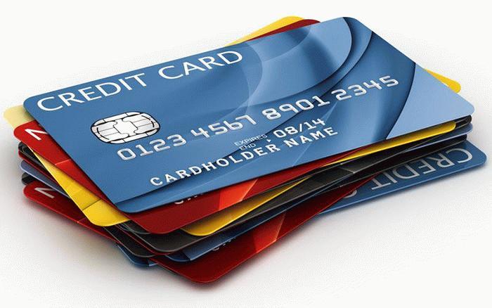 Кредитки разных банков