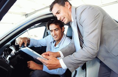 Знакомство с машиной до кредитования