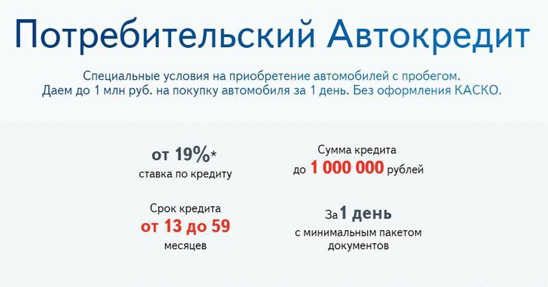 Севергазбанк рассчитать кредит